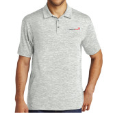 Silver Electric Heather Polo-Childrens Health Logo