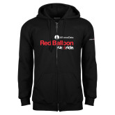 Black Fleece Full Zip Hoodie-Red Balloon Run and Ride - AllianceData