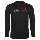 Performance Black Longsleeve Shirt-Pediatric Group