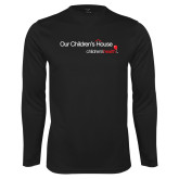 Performance Black Longsleeve Shirt-Our Childrens House