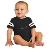 Black Jersey Onesie-Childrens Health Logo