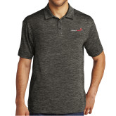 Charcoal Electric Heather Polo-Childrens Health Logo