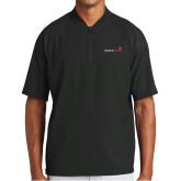 New Era Black Cage Short Sleeve 1/4 Zip-Childrens Health Logo