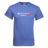 Arctic Blue T Shirt-Andrews Institute Logo