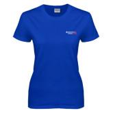 Ladies Royal T Shirt-Andrews Institute Logo