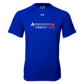 Under Armour Royal Tech Tee-Andrews Institute Logo