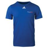 Adidas Royal Logo T Shirt-Andrews Institute Logo