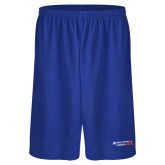 Russell Performance Royal 10 Inch Short w/Pockets-Andrews Institute Logo