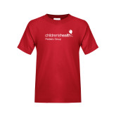 Youth Red T Shirt-Pediatric Group