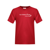 Youth Red T Shirt-Our Childrens House
