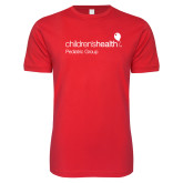 Next Level SoftStyle Red T Shirt-Pediatric Group