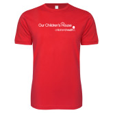 Next Level SoftStyle Red T Shirt-Our Childrens House