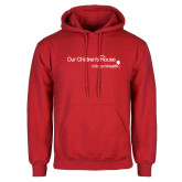 Red Fleece Hoodie-Our Childrens House