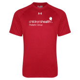 Under Armour Red Tech Tee-Pediatric Group