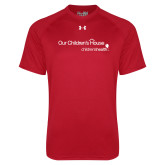 Under Armour Red Tech Tee-Our Childrens House