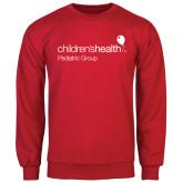 Red Fleece Crew-Pediatric Group