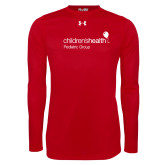 Under Armour Red Long Sleeve Tech Tee-Pediatric Group