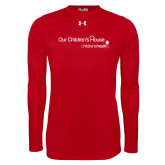Under Armour Red Long Sleeve Tech Tee-Our Childrens House
