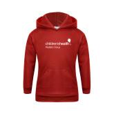 Youth Red Fleece Hoodie-Pediatric Group