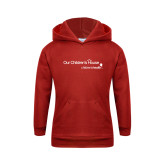 Youth Red Fleece Hoodie-Our Childrens House