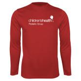Performance Red Longsleeve Shirt-Pediatric Group