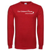 Red Long Sleeve T Shirt-Our Childrens House