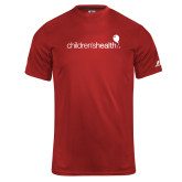 Russell Core Performance Red Tee-Childrens Health Logo