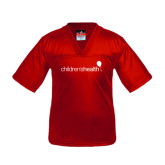 Youth Replica Red Football Jersey-Children's Health