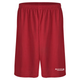 Performance Classic Red 9 Inch Short-Andrews Institute Logo