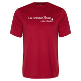 Performance Red Tee-Our Childrens House