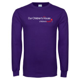 Purple Long Sleeve T Shirt-Our Childrens House