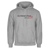 Grey Fleece Hoodie-Our Childrens House