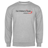 Grey Fleece Crew-Our Childrens House