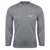 Performance Steel Longsleeve Shirt-Andrews Institute Logo
