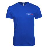 Next Level SoftStyle Royal T Shirt-Andrews Institute Logo