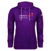 Adidas Climawarm Purple Team Issue Hoodie-Pediatric Group