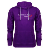 Adidas Climawarm Purple Team Issue Hoodie-Our Childrens House