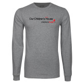 Grey Long Sleeve T Shirt-Our Childrens House