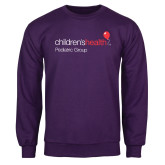 Purple Fleece Crew-Pediatric Group