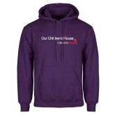 Purple Fleece Hoodie-Our Childrens House