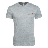 Next Level SoftStyle Heather Grey T Shirt-Childrens Health Logo