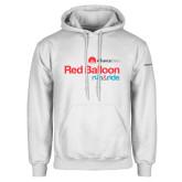 White Fleece Hoodie-Red Balloon Run and Ride - AllianceData