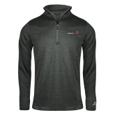Russell Charcoal Heather 1/4 Zip-Childrens Health Logo