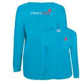 Turquoise Game Day Jersey Tee-Childrens Health Red Balloon