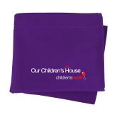 Purple Sweatshirt Blanket-Our Childrens House