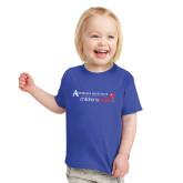 Toddler Royal T Shirt-Andrews Institute Logo