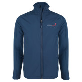 Navy Softshell Jacket-Childrens Health Logo
