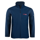 Navy Softshell Jacket-Red Balloon Run and Ride