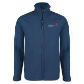Navy Softshell Jacket-Pediatric Group