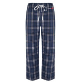 Navy/White Flannel Pajama Pant-Childrens Health Logo